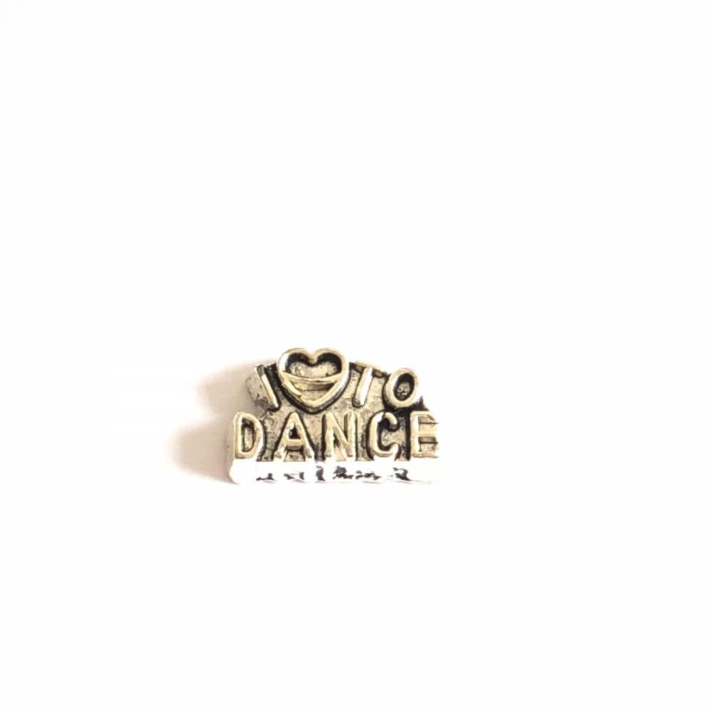 Mini Charm  I Love  Dance