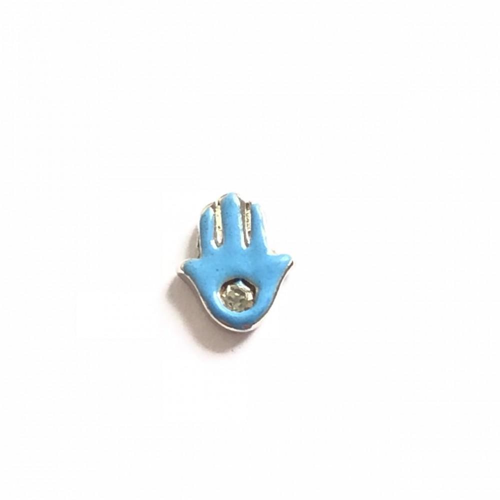 MCH-97 Mini Charm Mão de Buda Azul