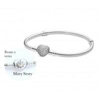 Pulseira Mary Story Prata 925 e Zirconias