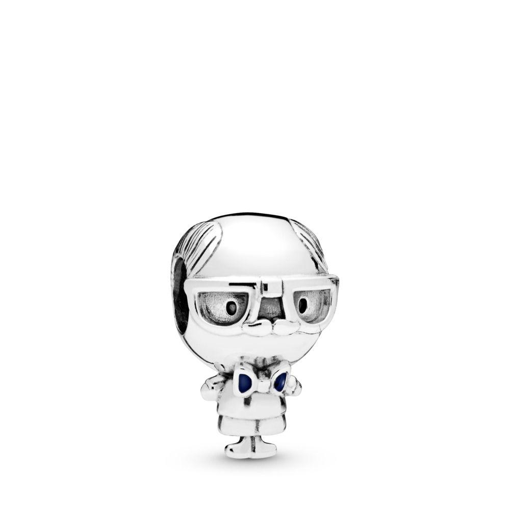 Berloque Mr.  Vovô Elegante Prata 925