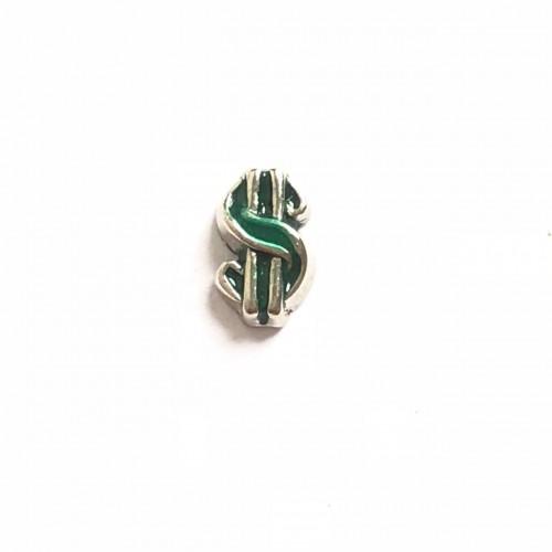 Mini Charm T$ em Cor verde da Sorte
