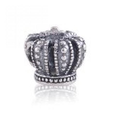 BE-384 Berloque Coroa Real em Prata 925 My Princess