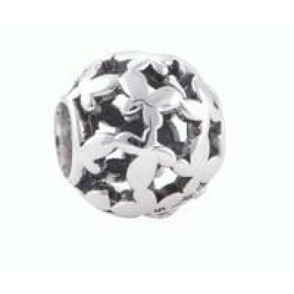 Mini Borboletas em Prata