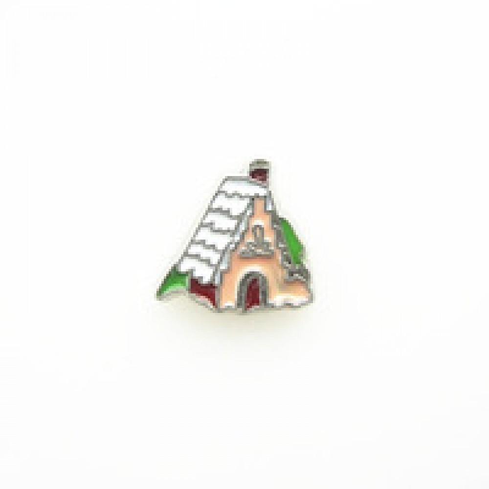 Mini Charm Casa de Natal