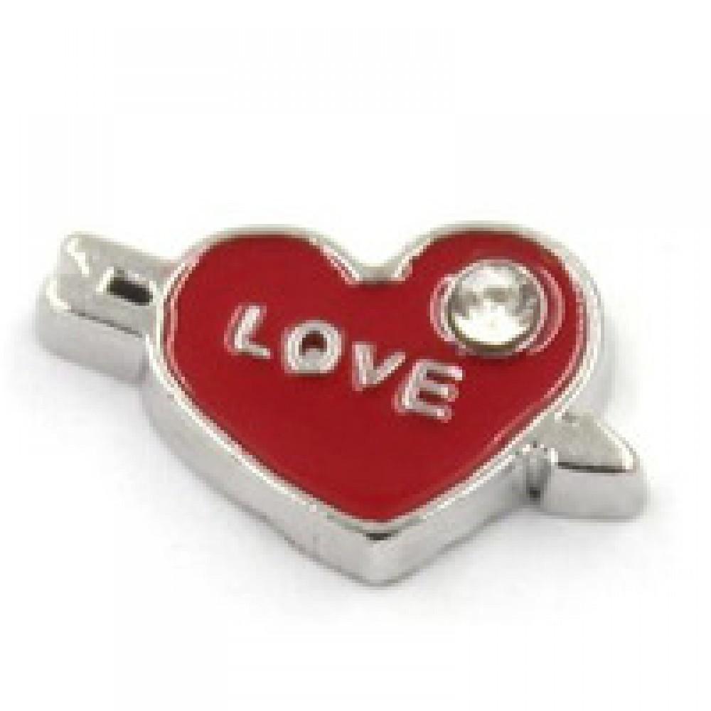 Mini Charm Flecha do Amor