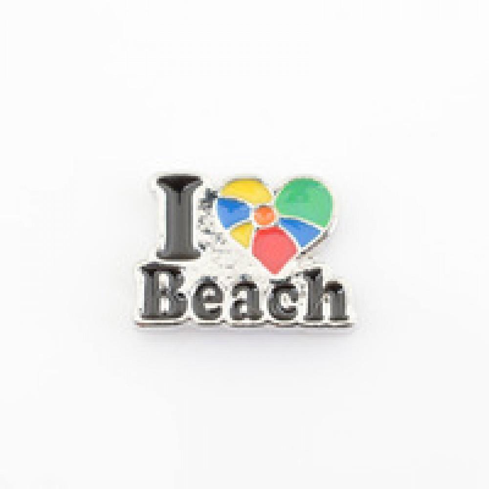 MCH-75 Mini Charm I Love Beach
