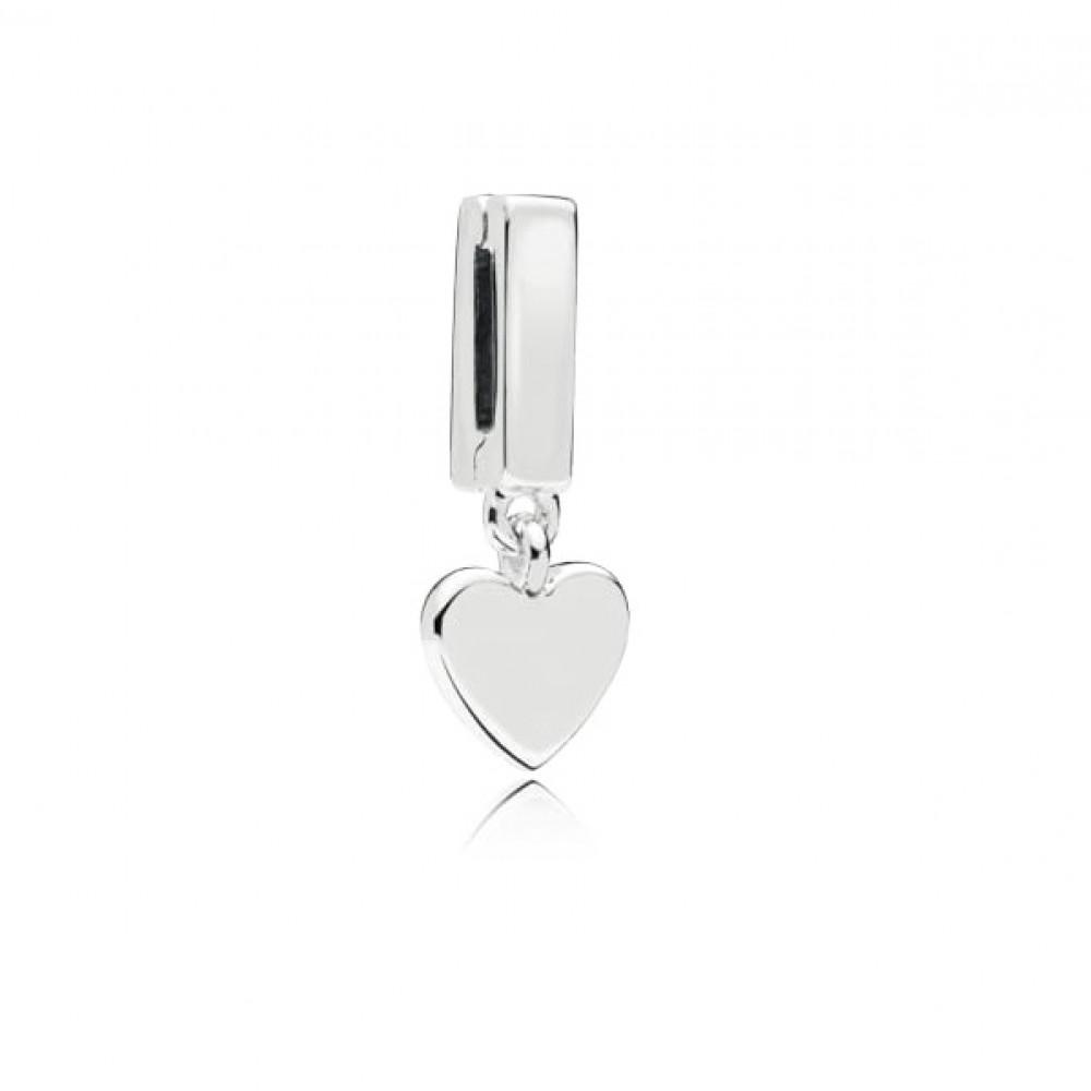 Coração único Reflexo em Prata 925