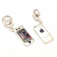 PG-189 Pingente Iphone em Prata
