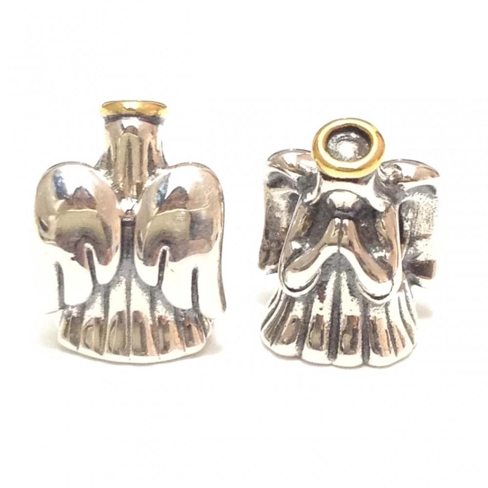 Berloque Meu Anjo Protetor em prata 925