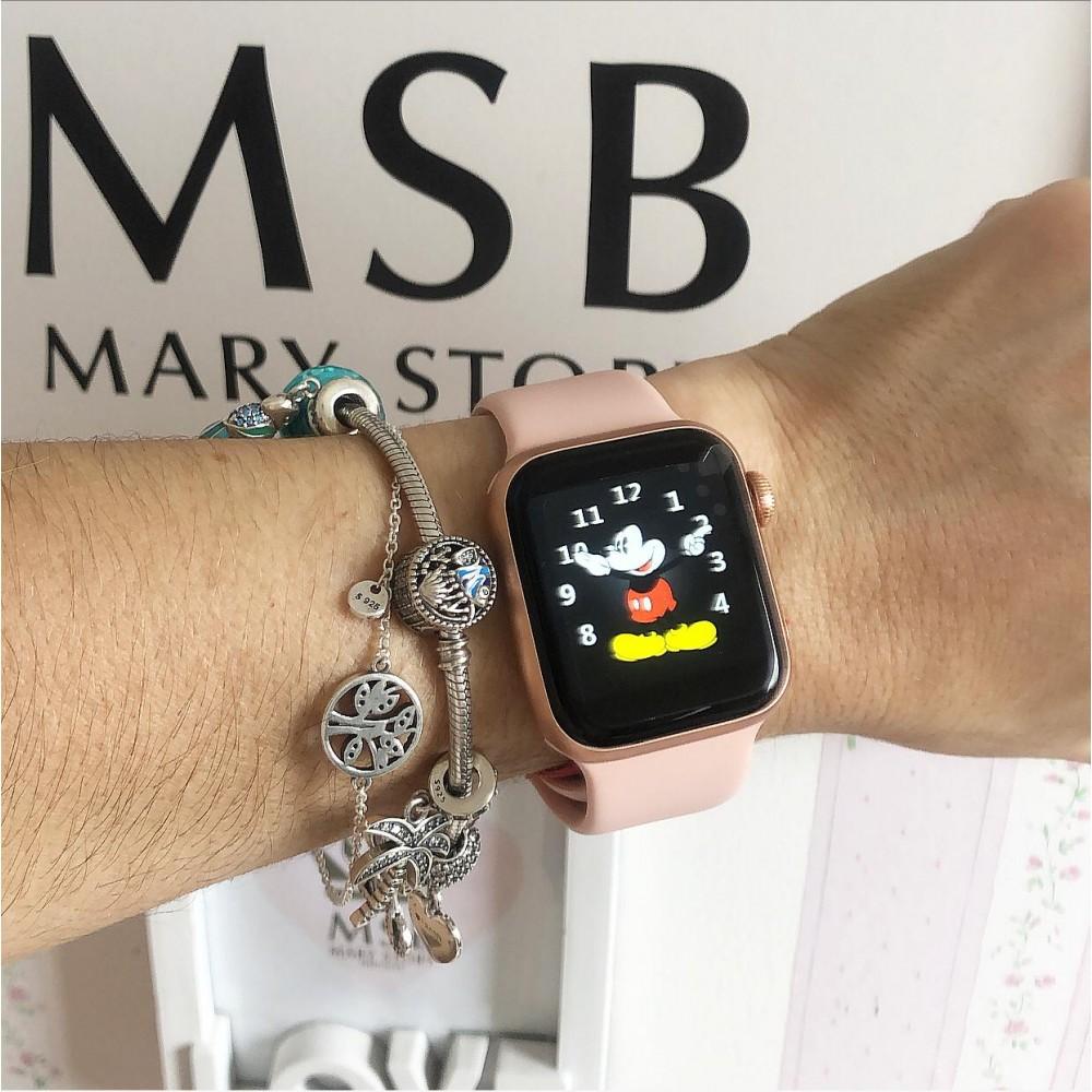 Smartwatch 5 ( Marca Sport Life ) Rosê