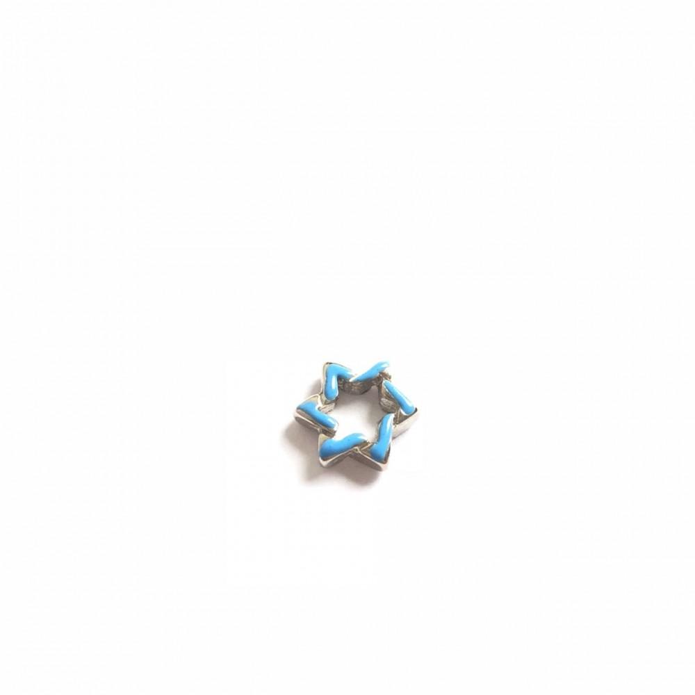 Mini charm Estrela Azul