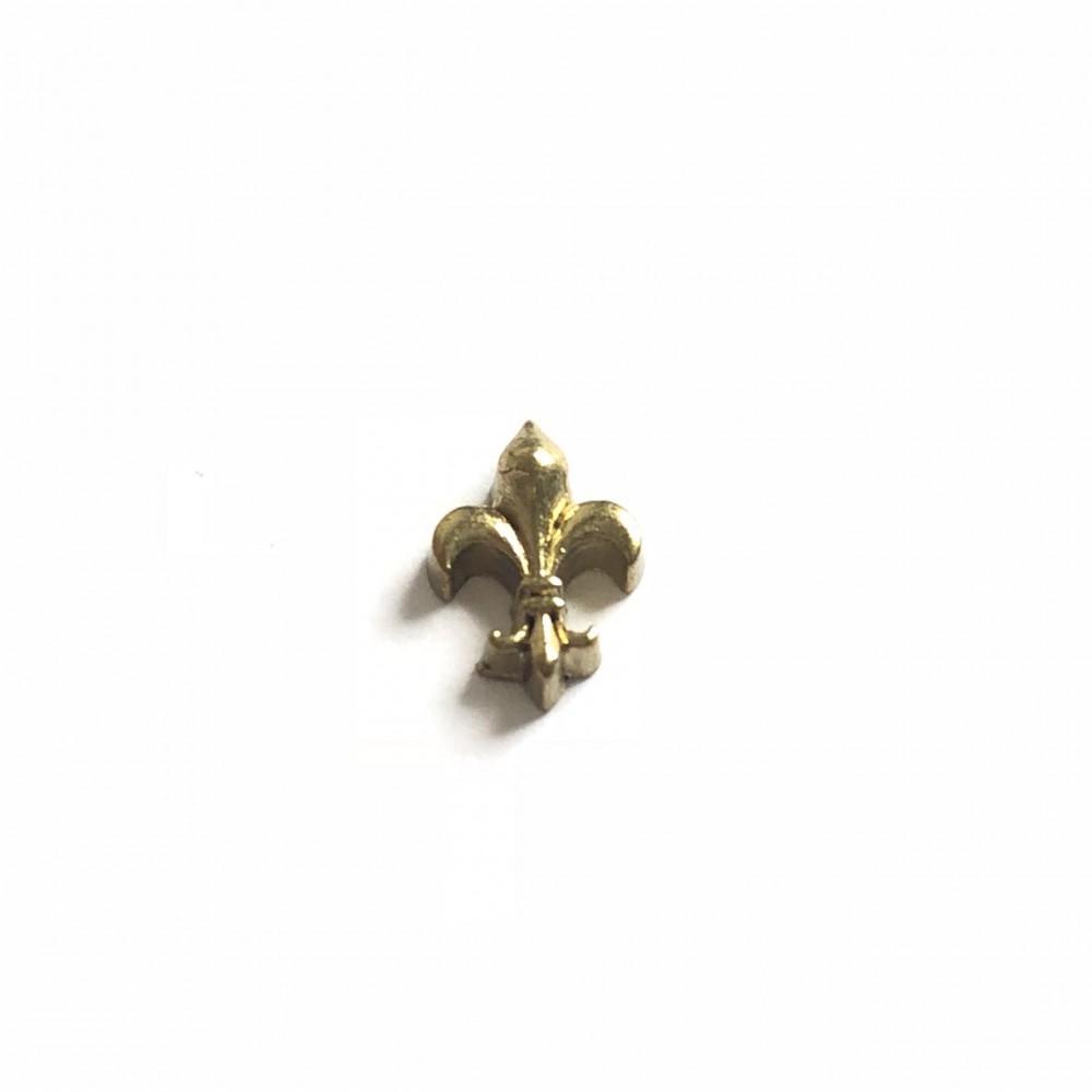 Mini Charm Arabesco Dourado