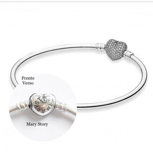 Bracelet Mary Story Berloques Prata 925 e Zirconias
