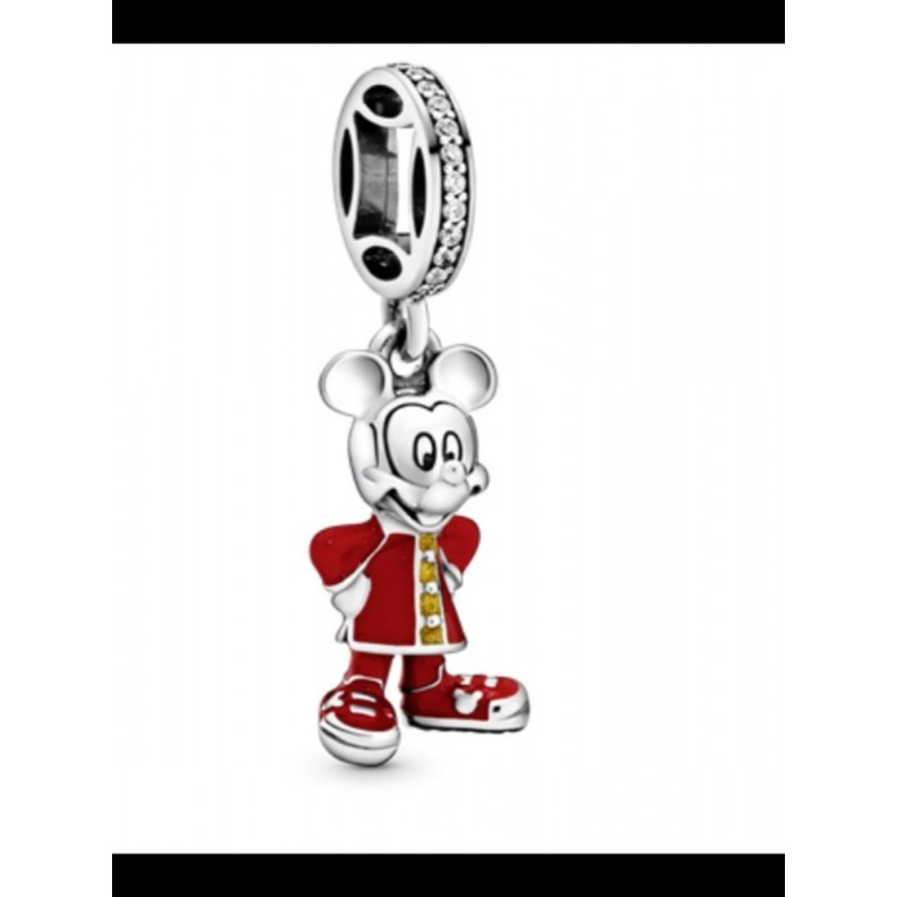 BE-139 Berloque Mickey Chinês Prata 925