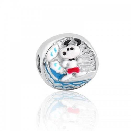 Berloque Snoopy Surfista