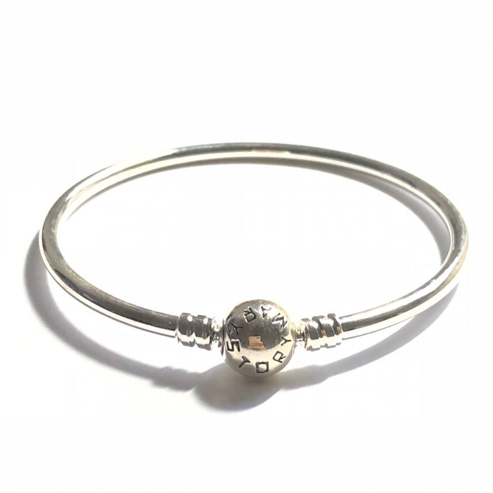 Bracelet  Mary Story 925 Rígido em Prata