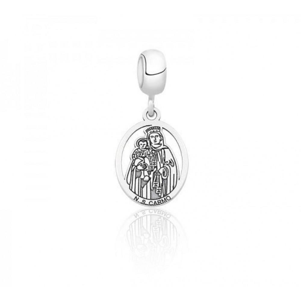 PG-264 Pingente Nossa Senhora do Carmo Em Prata 925