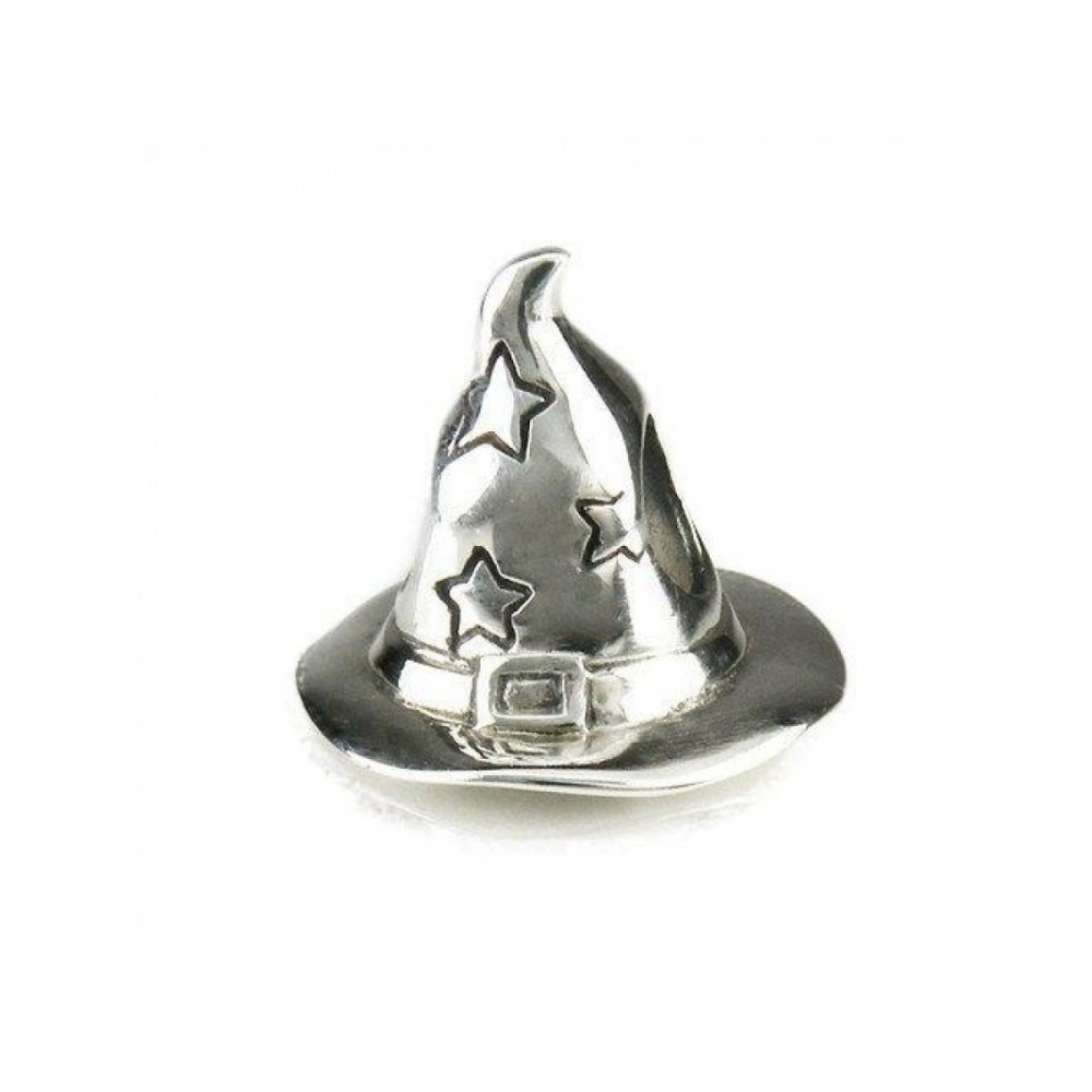 Berloque Chapeu do Mago em Prata