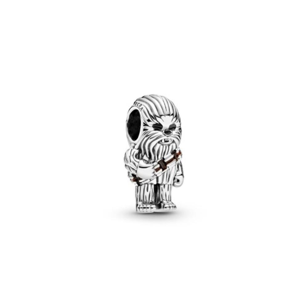 Berloque Chewbacca Prata 925