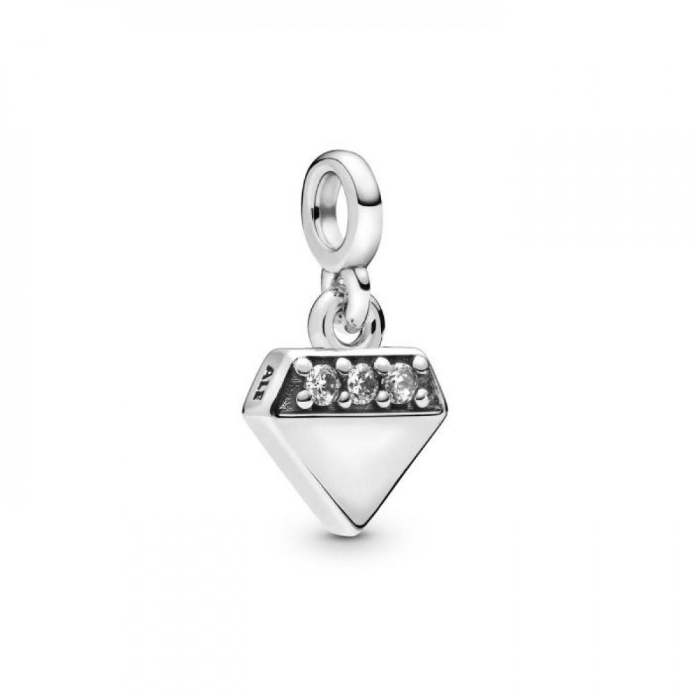 Pingente Diamante.Me Prata 925