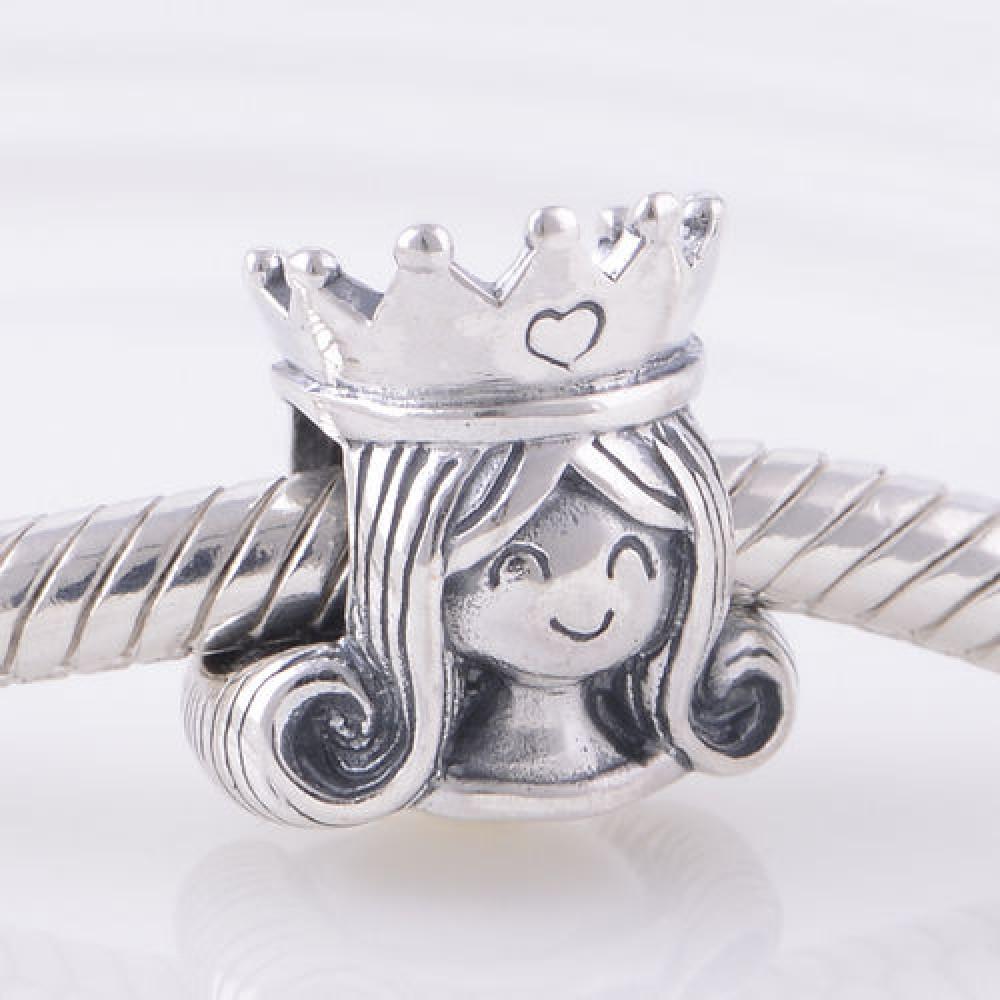 Berloque Princesa / Rainha em Prata 925