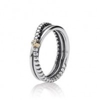 Anel Pontinhos Elegantes Prata 925