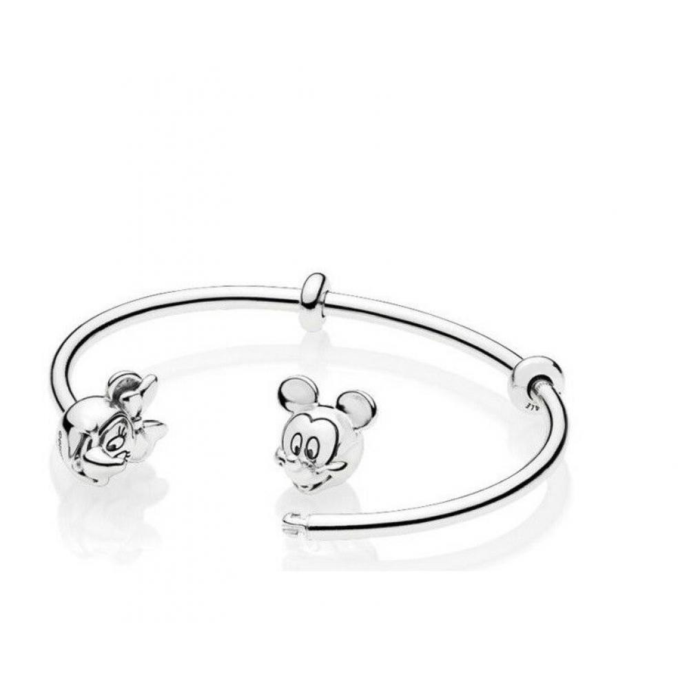 BT-03 Bracelet Casal de Ratinhos In Love Prata 925
