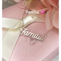 Gargantilha Família In lover 925