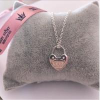Gargantilha TF coração Love  Prata 925