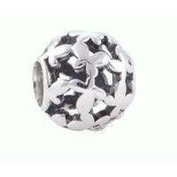 BE-253 Berloque Mini Borboletas em Prata