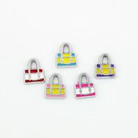 Mini Charm Bolsa ( Valor Unitario E Cores Variadas)