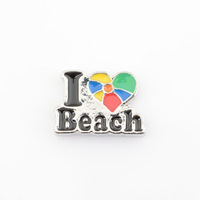 MCH-75 Mini Charm I Love Beach