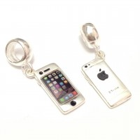 Pingente Iphone em Prata