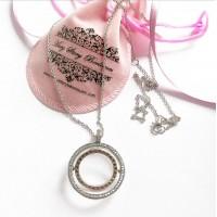 Gargantilha Mandala do Amor Prata 925 e zirconias