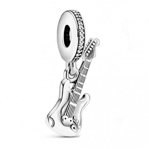 Pingente Guitarra In love Music Prata 925
