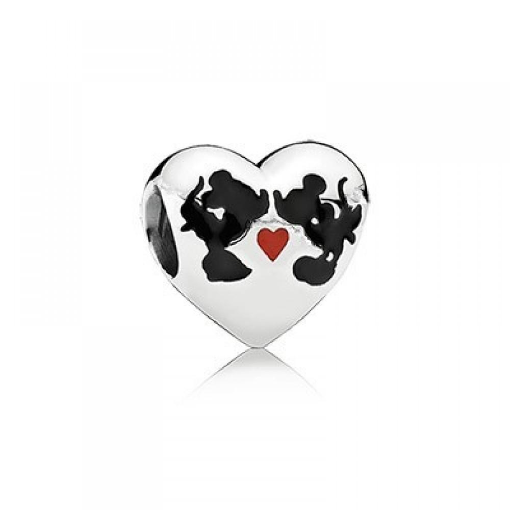 BE-70 Berloque Casal de Ratinhos In Love