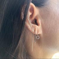 Brincos tendencia Prata 925 & Zirconias