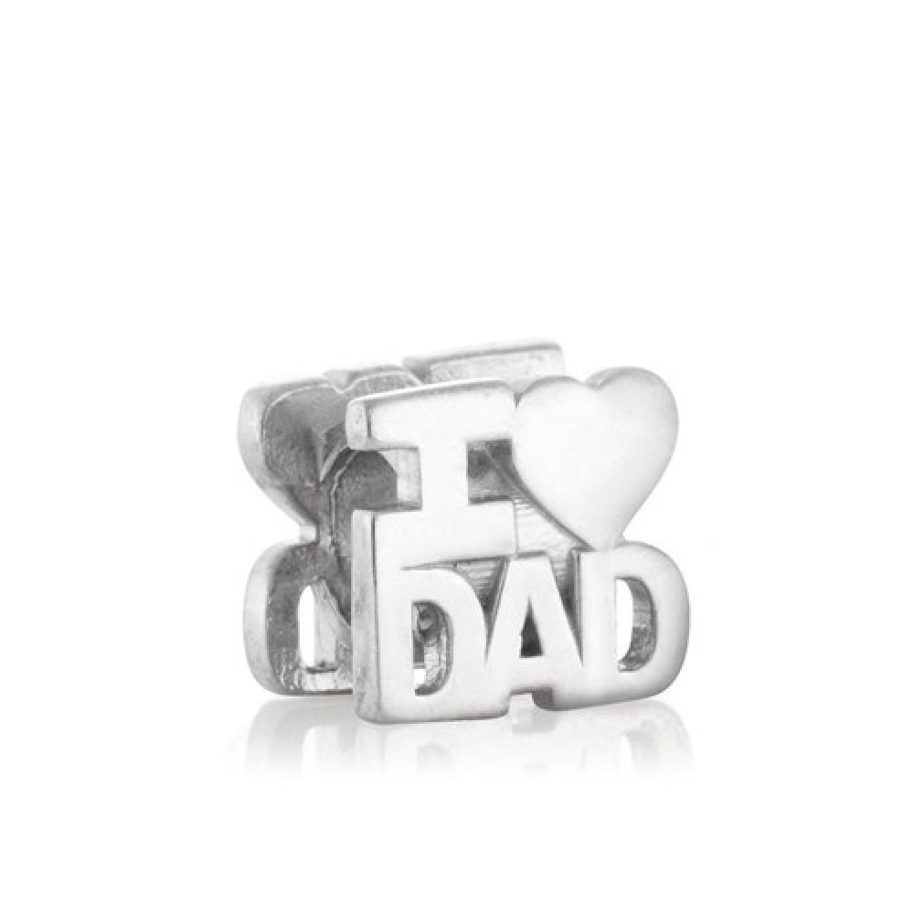 BE-216 Berloque Love Dad ( Pai)
