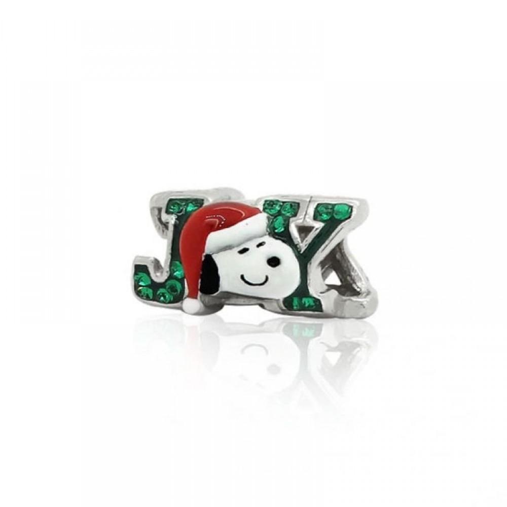 BE-316 Berloque Snoopy Feliz Natal
